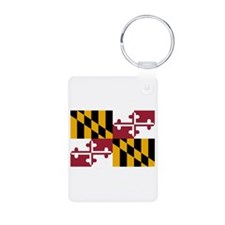 Maryland State Flag Keychains