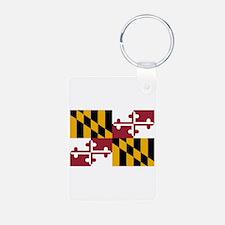 Maryland State Flag Keychains