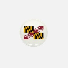 Maryland State Flag Mini Button (100 pack)