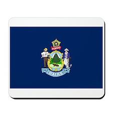 Maine State Flag Mousepad