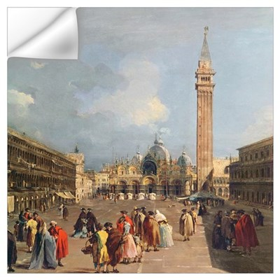 Piazza San Marco, Venice, c.1760 (oil on canvas) ( Wall Decal