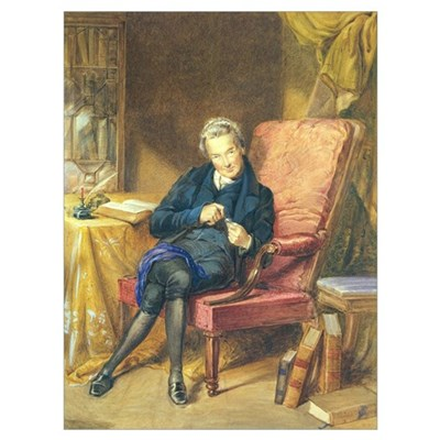 Portrait of William Wilberforce (1759-1833) 1833 ( Poster