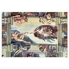 Sistine Chapel Ceiling: Creation of Adam, 1510 (fr
