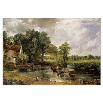 The Hay Wain, 1821 (oil on canvas) Poster