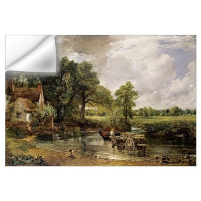 The Hay Wain, 1821 (oil on canvas) Wall Decal