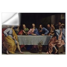 The Last Supper, 1648 (oil on canvas) Wall Decal