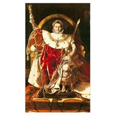 Napoleon I (1769-1821) on the Imperial Throne, 180 Poster