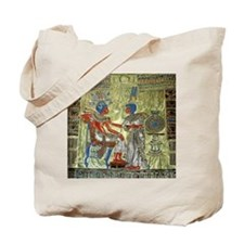Tutankhamons Throne Tote Bag