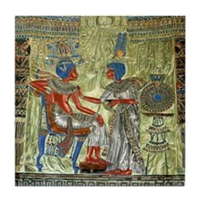 Tutankhamons Throne Tile Coaster