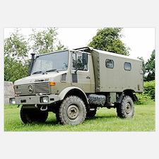 Unimog truck of the Belgian Army