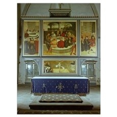 Reformation Altarpiece, 1547 (oil on panel) Poster