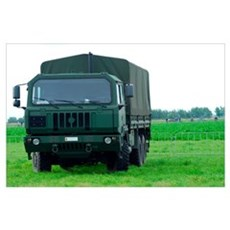 The Iveco M250 8 ton truck of the Belgian Army Poster