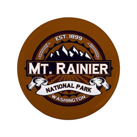 "Mt. Rainier Vibrant 3.5"" Button"