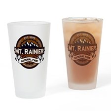 Mt. Rainier Vibrant Drinking Glass