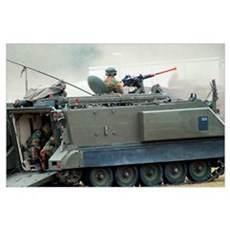 The M113 tracked infantry vehicle Poster