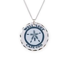 "Wellfleet MA ""Sand Dollar"" Design. Necklace"