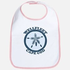 "Wellfleet MA ""Sand Dollar"" Design. Bib"