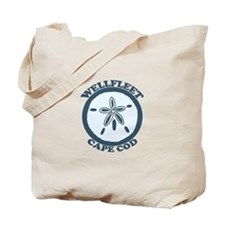 "Wellfleet MA ""Sand Dollar"" Design. Tote Bag"