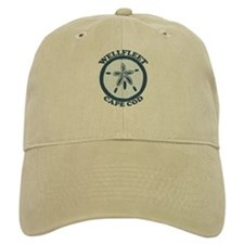 "Wellfleet MA ""Sand Dollar"" Design. Baseball Cap"