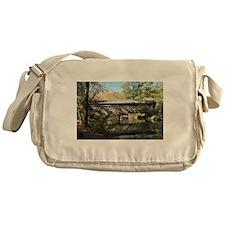 Poole's Mill Covered Bridge Messenger Bag