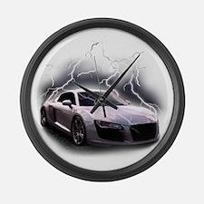 Cute Lamborghini Large Wall Clock