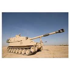 M109 Paladin a selfpropelled 155mm howitzer Framed Print