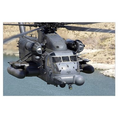A MH53J Pave Low IIIE heavylift helicopter Poster