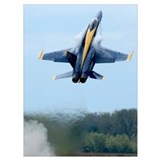 Blue angels Wrapped Canvas Art