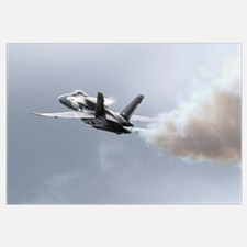 Lead solo pilot of the Blue Angels demonstrates a