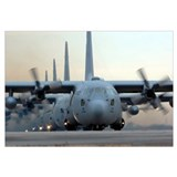 C 130 Wrapped Canvas Art