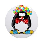 Clown penguin Ornament (Round)