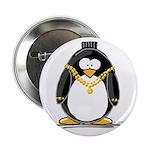 Bling penguin Button