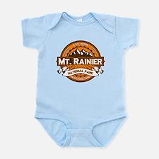 Mt. Rainier Pumpkin Infant Bodysuit