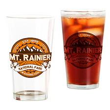 Mt. Rainier Pumpkin Drinking Glass