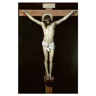 Christ on the Cross, c.1630 (oil on canvas) Poster