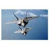 Fighter jets Wrapped Canvas Art