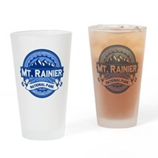 Mt. Rainier Ice Drinking Glass