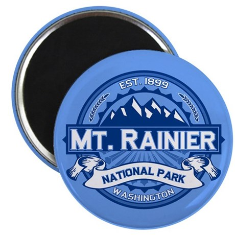 Mt. Rainier Ice Magnet