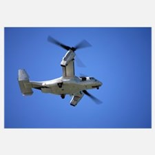 An Osprey tiltrotor aircraft in flight