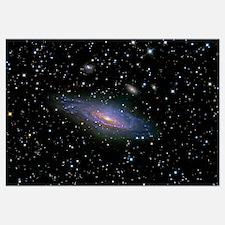 NGC7331 Galaxy and its companion galaxies