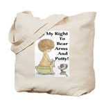 The Right to Bear Arms & Pott Tote Bag