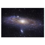 Andromeda galaxy Wrapped Canvas Art