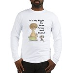 The Right to Bear Arms & Pott Long Sleeve T-Shirt