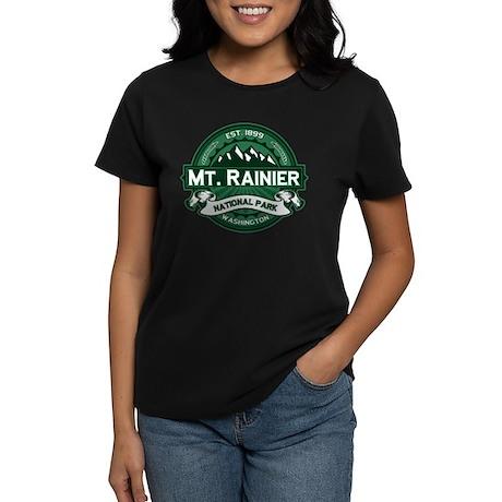 Mt. Rainier Forest Women's Dark T-Shirt