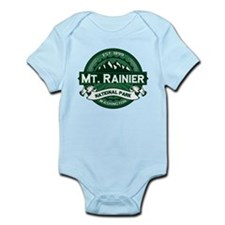 Mt. Rainier Forest Infant Bodysuit