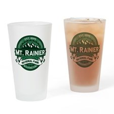 Mt. Rainier Forest Drinking Glass