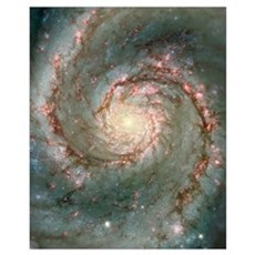 M51 also known as NGC 5194 Poster