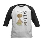 The Right to Bear Arms & Pott Kids Baseball Jersey