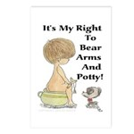 The Right to Bear Arms & Pott Postcards (Package o