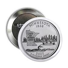2005 Minnesota State Quarter Button